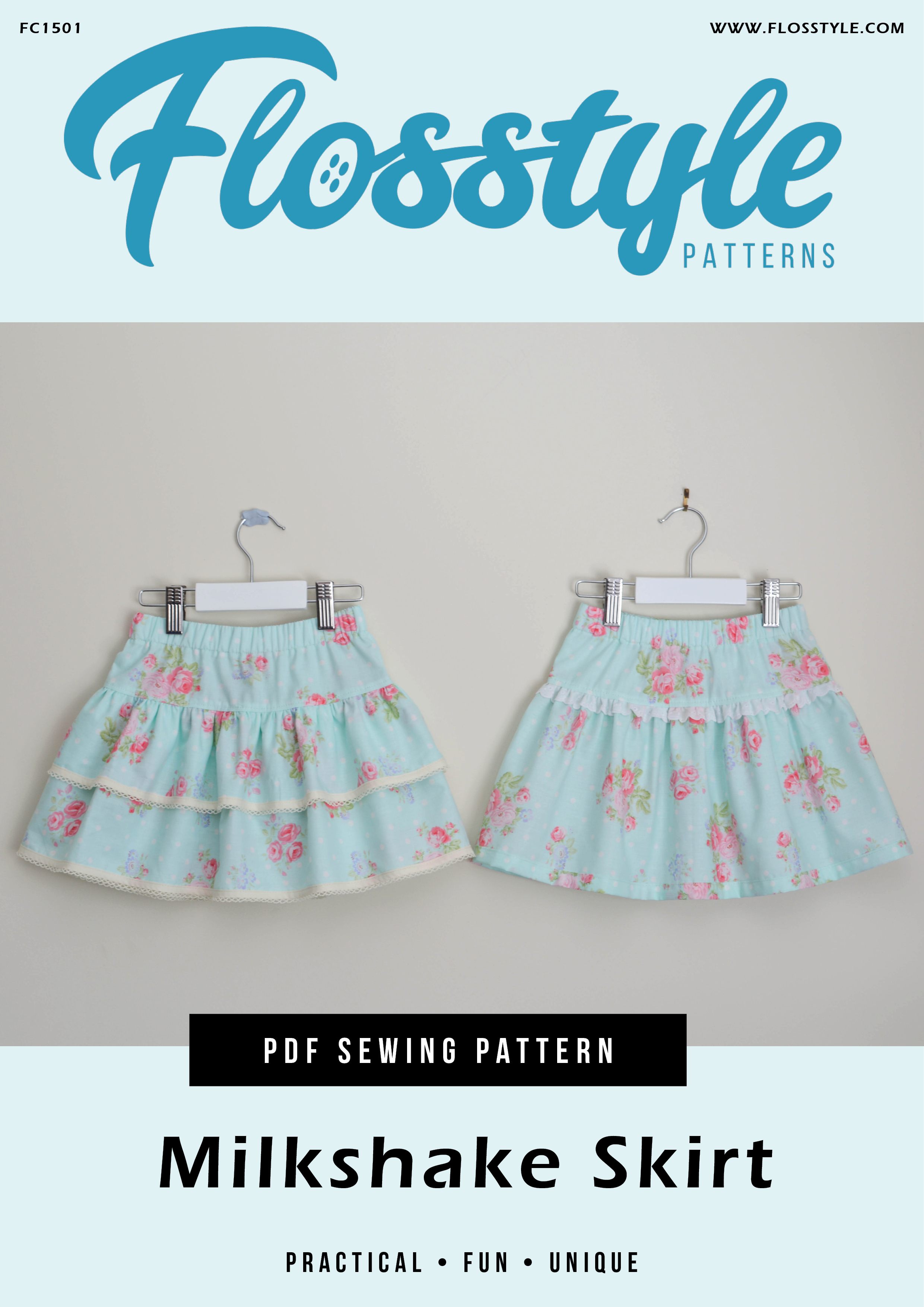 Milkshake Skirts Pattern
