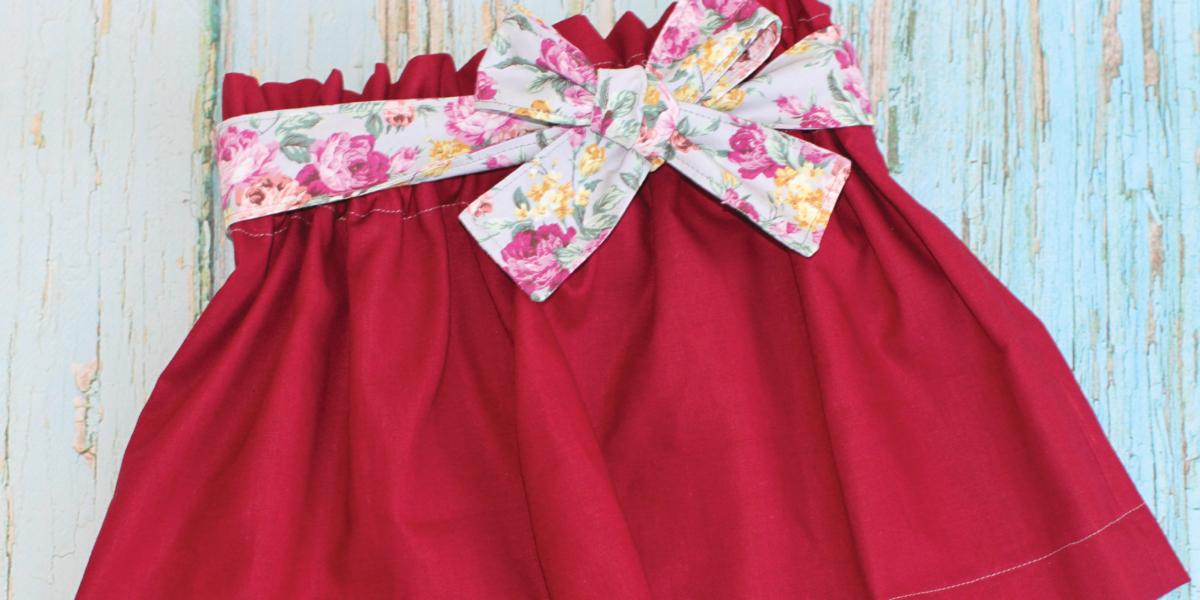 souffle skirt